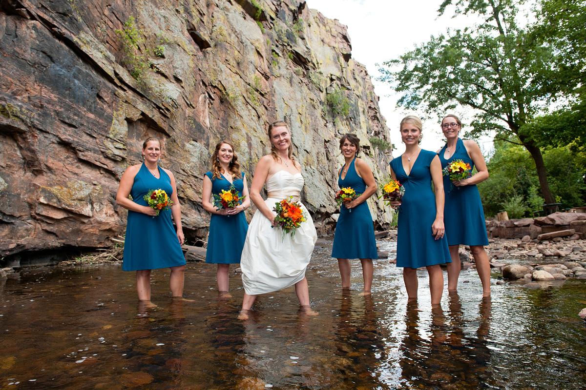 Colorado woods wedding