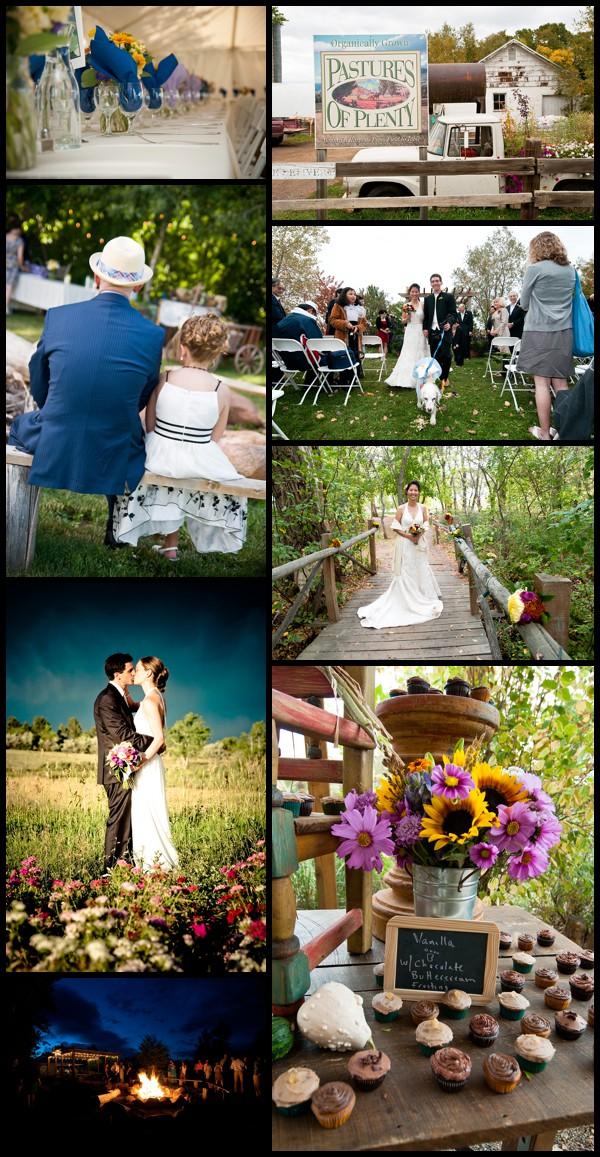 Pastures of Plenty wedding photo