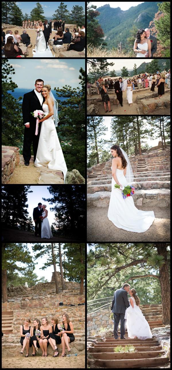 flagstaff amphitheater wedding photo