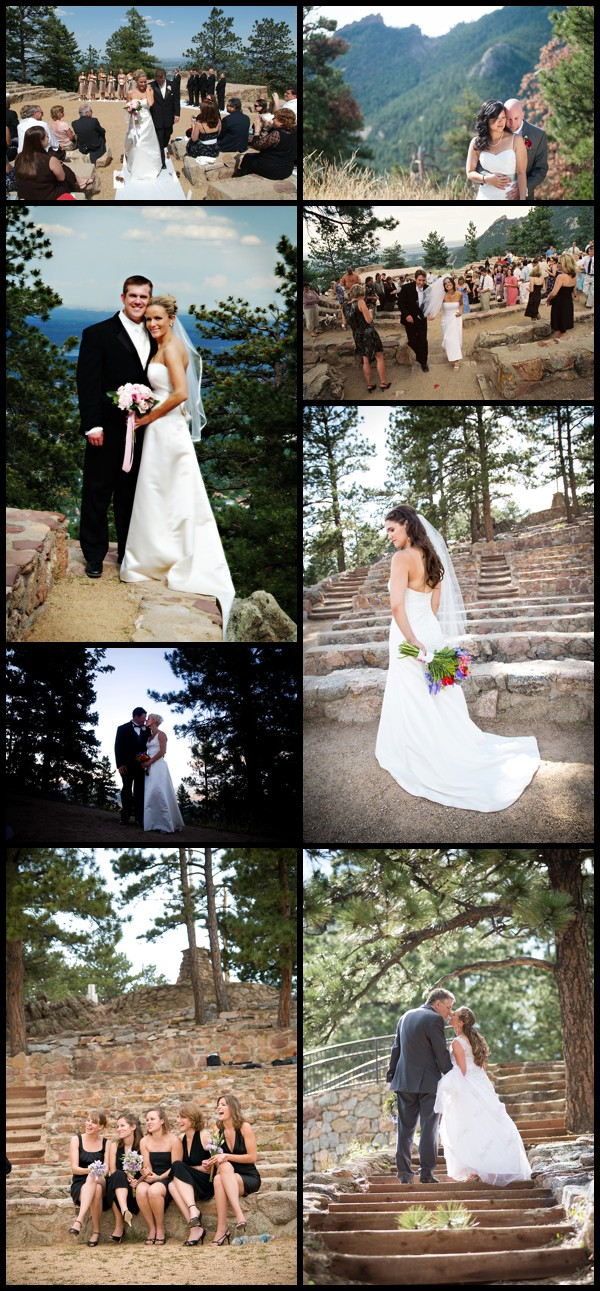 flagstaff amphitheater wedding photo